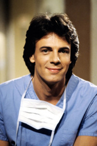"Rick Springfield as Dr. Noah Drake on ""General Hospital."""