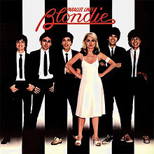 "Blondie's ""Parallel Lines"" album cover."